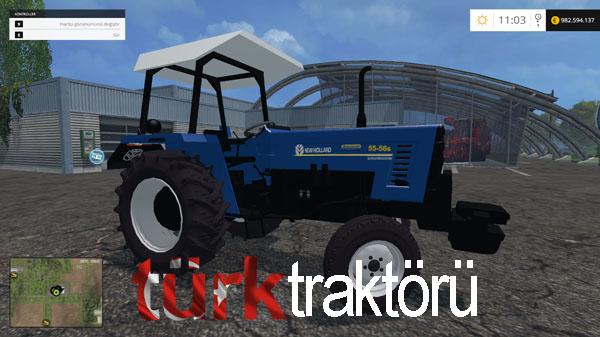 Photo of New Holland 55-56S Turbointercooler Türk Traktörü