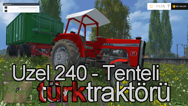 Photo of FS15 – Uzel 240S Turbo + Tente Türk Traktörü