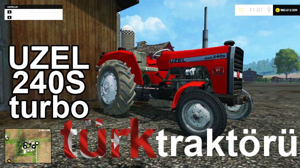Photo of Uzel 240 S Turbo Türk Traktörü