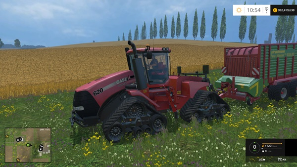 Photo of FS15 – Case IH Quadtrac 620 Traktör Yaması V1.5