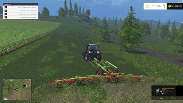 Photo of FS15 – Claas Volto 13 Metrelik Ot Kurutma Makinesi