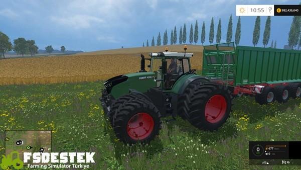 Photo of FS15 – Fendt Vario 1050 Traktör Yaması