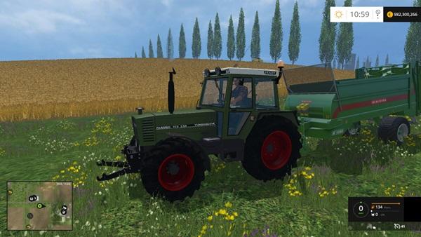 Photo of FS15 – Fendt Farmer 310 LSA Traktör Yaması