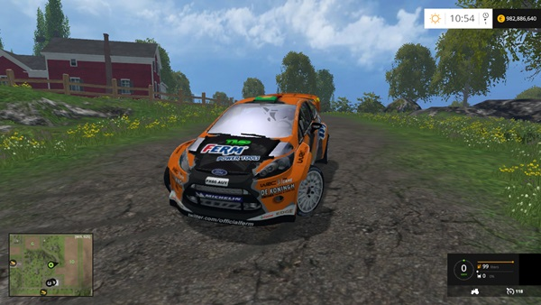 Photo of FS15 – Ford Fiesta WRC Araba Yaması