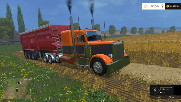 Photo of FS15 – Peterbilt 388 Tır Yaması