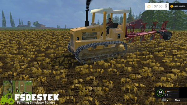Photo of FS15 – Caterpillar D4e Paletli Traktör Yaması V2