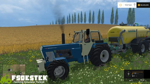 Photo of FS15 – Fortschritt ZT 303 Traktör Yaması
