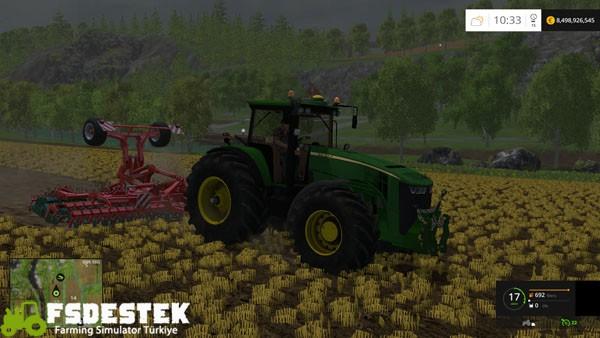 Photo of FS15 – John Deere 8370R Amerikan Traktör Yaması V1.3