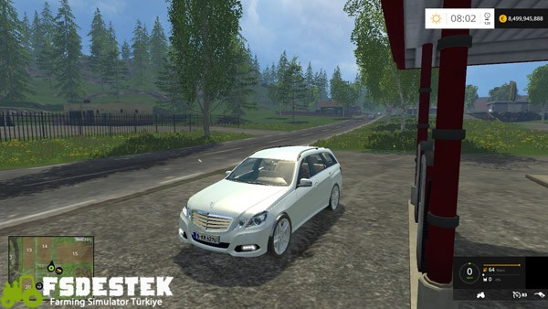 Photo of FS15 – Mercedes-Benz E Class Araba Yaması