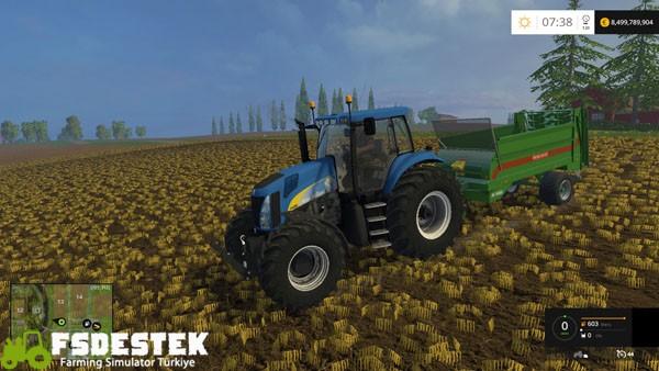 Photo of FS15 – New Holland TG 285 Traktör Yaması