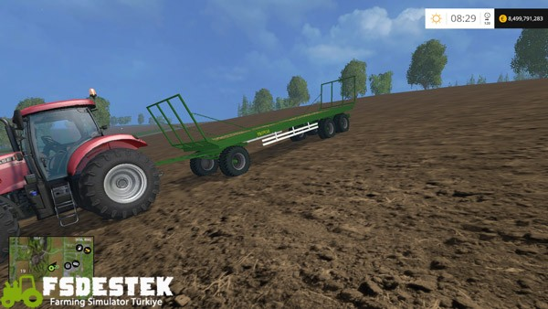 Photo of FS15 – Pronar T026 Balya Taşıma Römorku