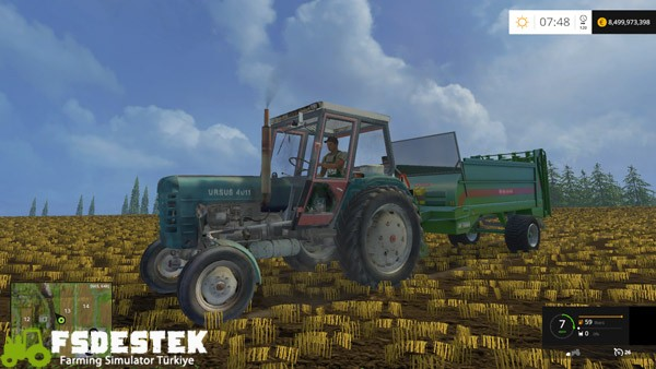 Photo of FS15 – Ursus C 4011 Traktör Yaması