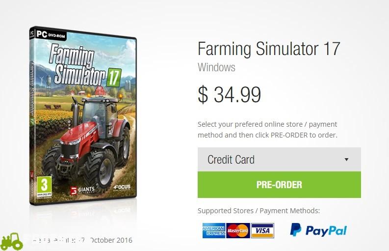 Photo of Farming Simulator 17 Ön satışa Sunuldu