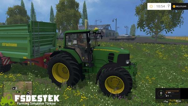 Photo of FS15 – John Deere 7530 Premium Traktör Yaması V2