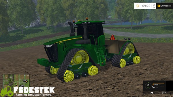 Photo of FS15 – John Deere 9620RX Traktör Yaması