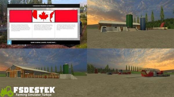 Photo of FS15 – Kanada Çiftlik Haritası