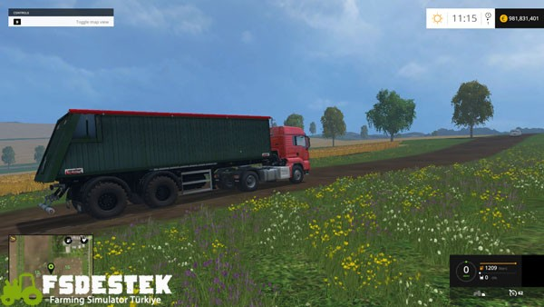 Photo of FS15 – Krone Agroliner SMK 34 Römork Yaması