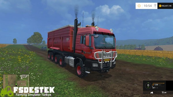 Photo of FS15 – Man TGS 10×8 Kamyon Modu