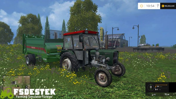 Photo of FS15 – Ursus C-330 Traktör Yaması V1