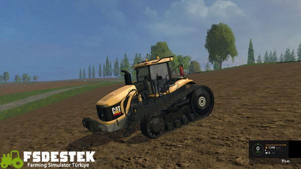 Photo of FS15 – CAT 865B Traktör Yaması