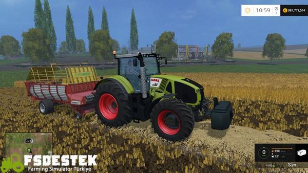 Photo of FS15 – Claas Axion 950 Pro Traktör Yaması