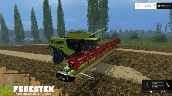 Photo of FS15 – Claas Lexion 795 Biçer Döver Yaması