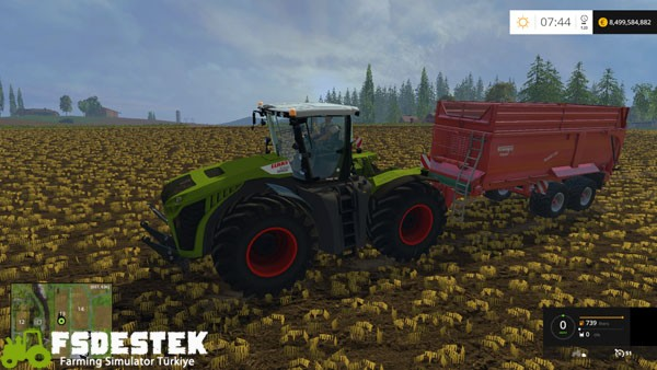 Photo of FS15 – Claas Xerion 5000 Traktör Yaması