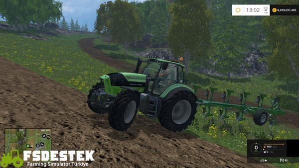Photo of FS15 – Deutz-Fahr TTV 7210 Traktör Yaması