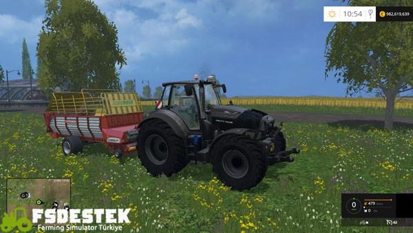 Photo of FS15 – Deutz-Fahr 7250 TTV Warrior Traktör Yaması