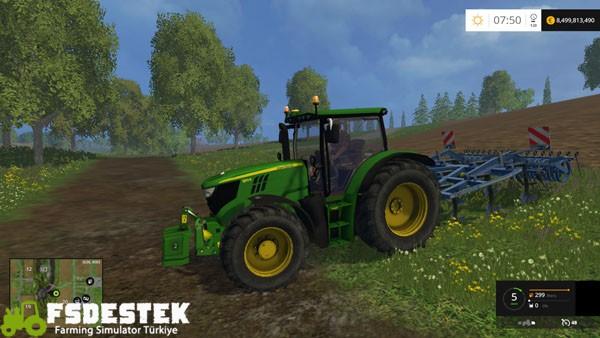 Photo of FS15 – John Deere 6150R Traktör Yaması