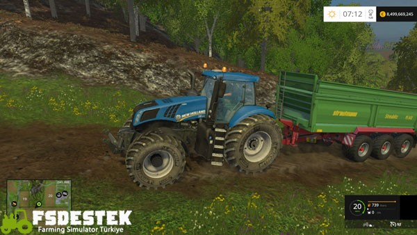 Photo of FS15 – New Holland T8 320 Traktör Yaması