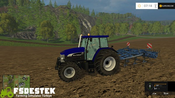 Photo of FS15 – New Holland TM 190 Traktör Yaması V1