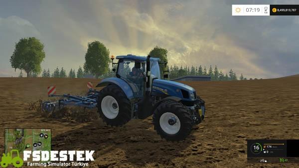 Photo of FS15 – New Holland T6.175 Traktör Yaması
