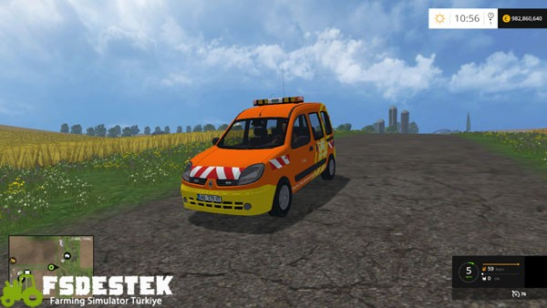 Photo of FS15 – Renault Kangoo