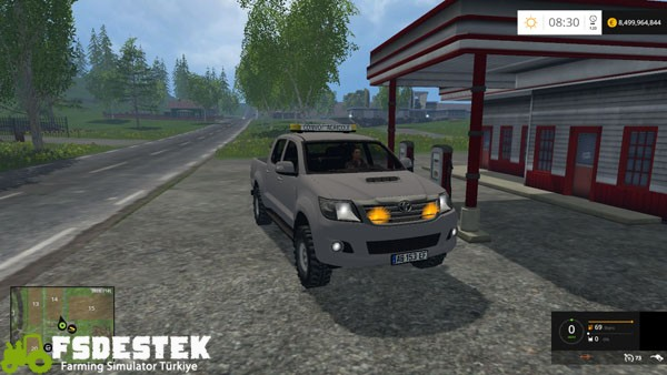 Photo of FS15 – Toyota Hilux Pick-up Yaması