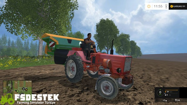 Photo of FS15 – Wladimirec T25 Traktör Yaması