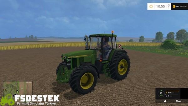 Photo of FS15 – John Deere 7710 & 7810 Traktör Yaması