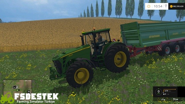 Photo of FS15 – John Deere 8530 Amerikan Traktör Yaması