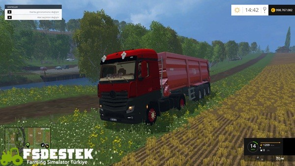 Photo of FS15 – Mercedes-Benz MP4 Modifiyeli Kamyon Yaması