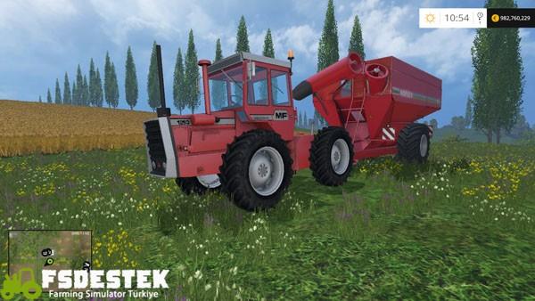 Photo of FS15 – Massey Ferguson 1200 Traktör Paketi