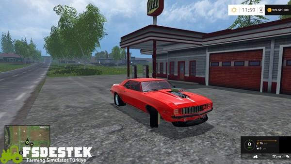 Photo of FS15 – Pontiac Transam 77 & Chevrolet Camaro Z28 Araba Paketi