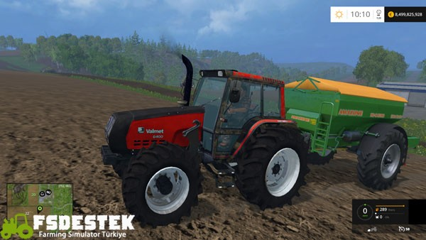 Photo of FS15 – Valmet 6400 Traktör Yaması