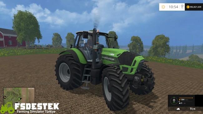 Photo of FS15 – Deutz-Fahr Agrotron X720 Traktör Yamaası V1.1