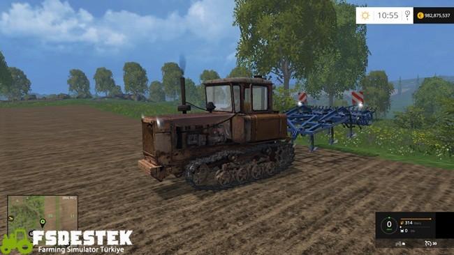 Photo of FS15 – TD-75 Paletli Traktör Yaması V1