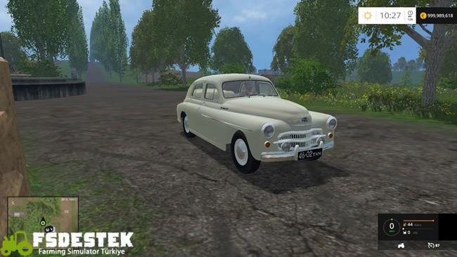Photo of FS15 – Gaz M20B Araba Modu V1
