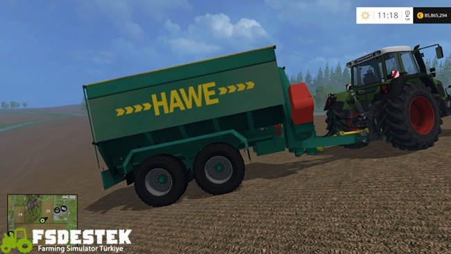 Photo of FS15 – Hawe ULW Tandem Römork Yaması V1