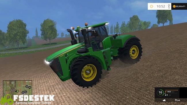 Photo of FS15 – John Deere 9620 Traktör V1