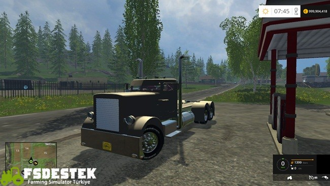 Photo of FS15 – Peterbilt Amerikan Tır Yaması V1