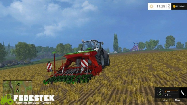 Photo of FS15 – Unia Focus FS T 1000/3 Mibzer Yaması V1