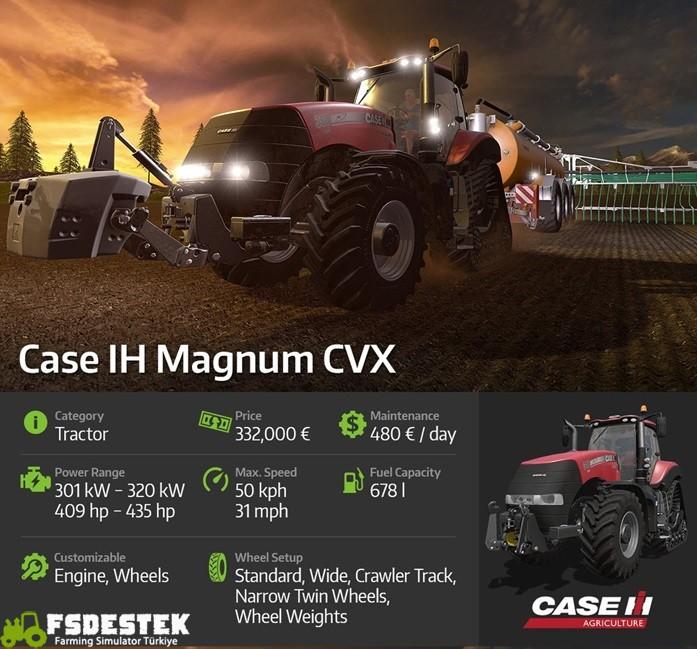 Photo of Farming 17 Case IH Magnum CVX Tanıtımı